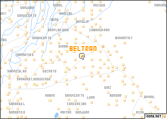 map of Beltran