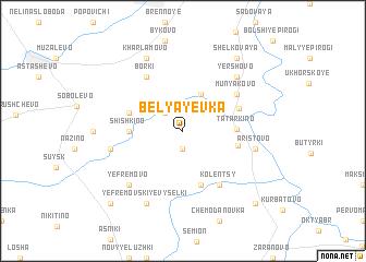 map of Belyayevka