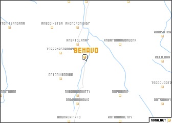 map of Bemavo