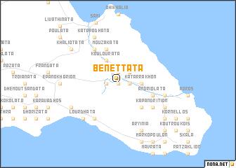 map of Benettáta