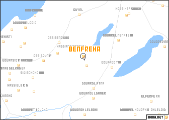 map of Benfreha