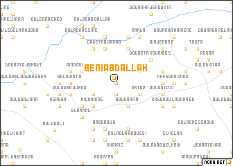 map of Beni Abdallah