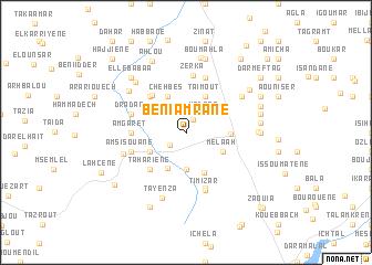 map of Beni Amrane