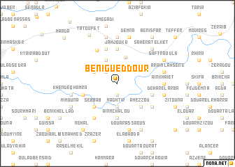 map of Beni Gueddour