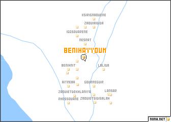 map of Beni Hayyoum
