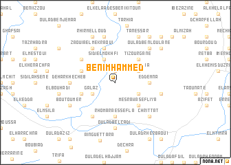 map of Beni Mhammed