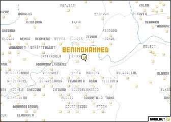 map of Beni Mohammed