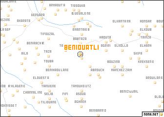 map of Beni Ouatli