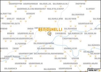 map of Beni Ouhelli