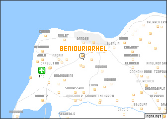 map of Beni Ouriarhel