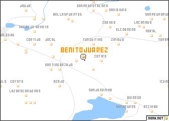 Benito Juarez Mexico Map Nona Net