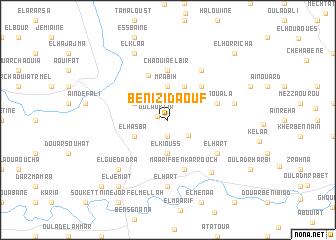 map of Beni Zid Aouf