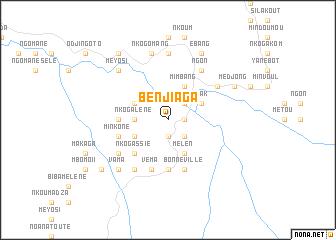 map of Benjiaga