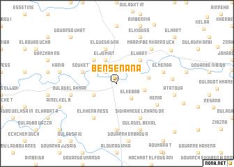 map of Ben Senana