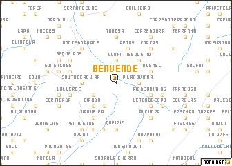 map of Benvende