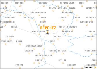 map of Berchez