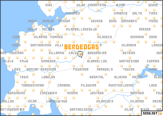 map of Berdeogas