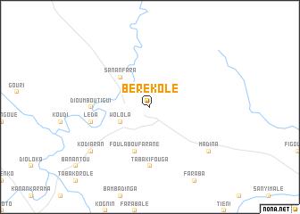 map of Bérékolé