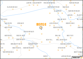 map of Berge