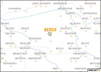 map of Berge