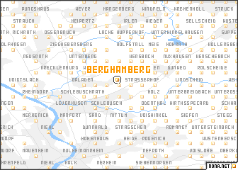 map of Berghamberg