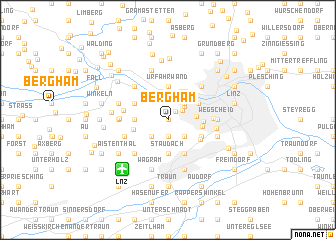 map of Bergham