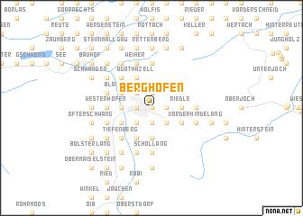 map of Berghofen