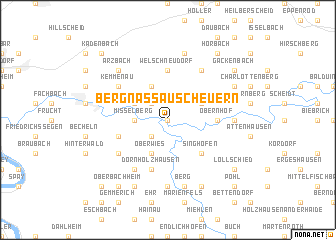 map of Bergnassau-Scheuern