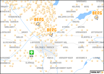 map of Berg