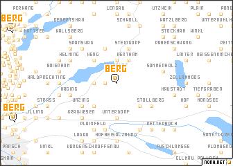 map of Berg