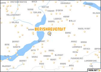 map of Berisha e Vendit