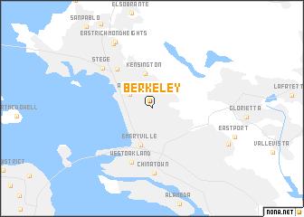 Berkeley United States USA map nonanet
