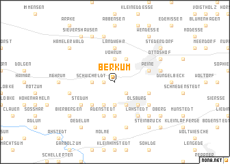 map of Berkum