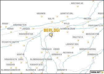 map of Berlogi
