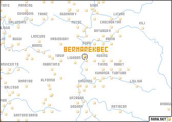 map of Bermarekbec