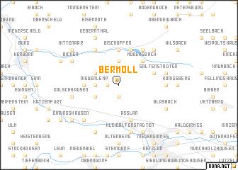map of Bermoll