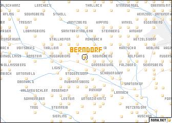 map of Berndorf