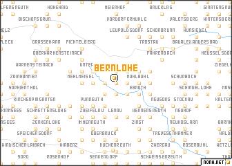 map of Bernlohe