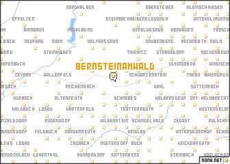 map of Bernstein am Wald
