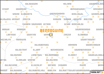 map of Berraguine