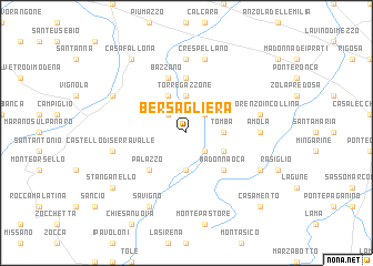 map of Bersagliera