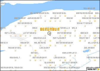 map of Berumbur