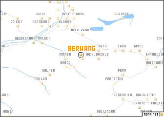map of Berwang