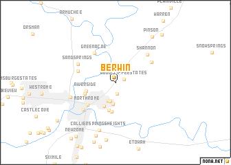 map of Berwin
