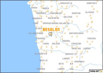 map of Besalan