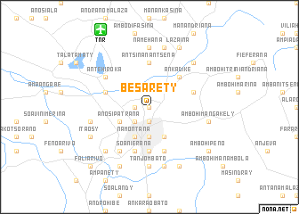 map of Besarety