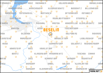 map of Beselin