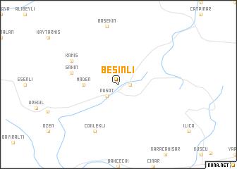 map of Besinli