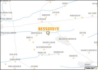 map of Bessonoye