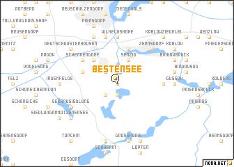 map of Bestensee